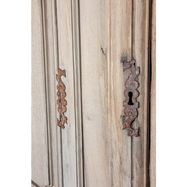 19th Century Antique French Oak Armoire For Sale - Image 9 of 13