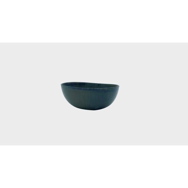 1960s Carl Harry Stålhane Miniature Ceramic Bowl For Sale - Image 5 of 5