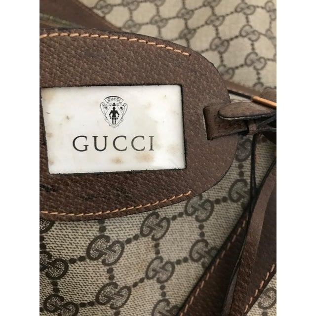 Gucci Huge Vintage Gucci Monogram Duffel Bag For Sale - Image 4 of 12