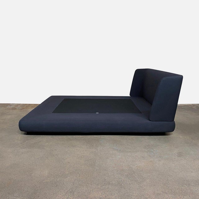Contemporary Modern Minotti 'Creed' Cal King Bedframe For Sale - Image 3 of 8