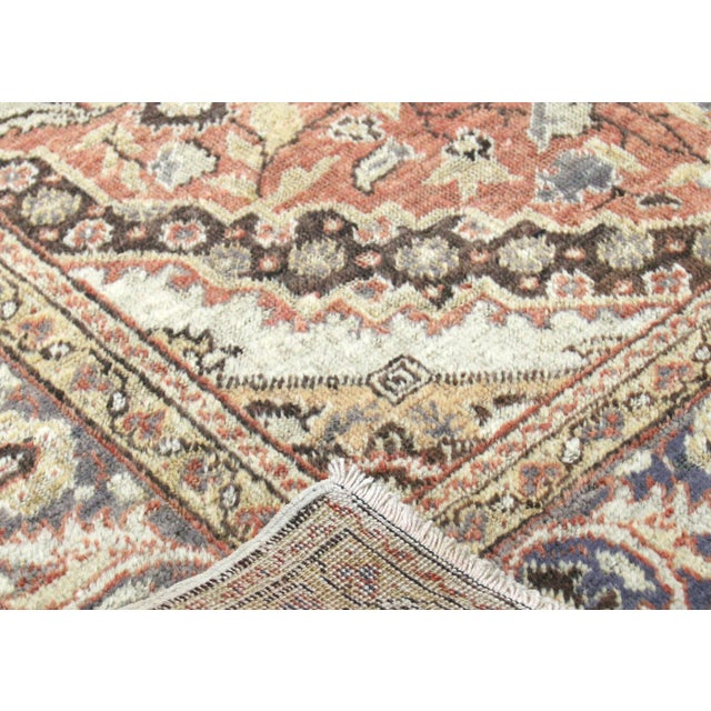 "1960s Turkish Oushak Rug 4'3"" X 5'11"" For Sale - Image 4 of 7"