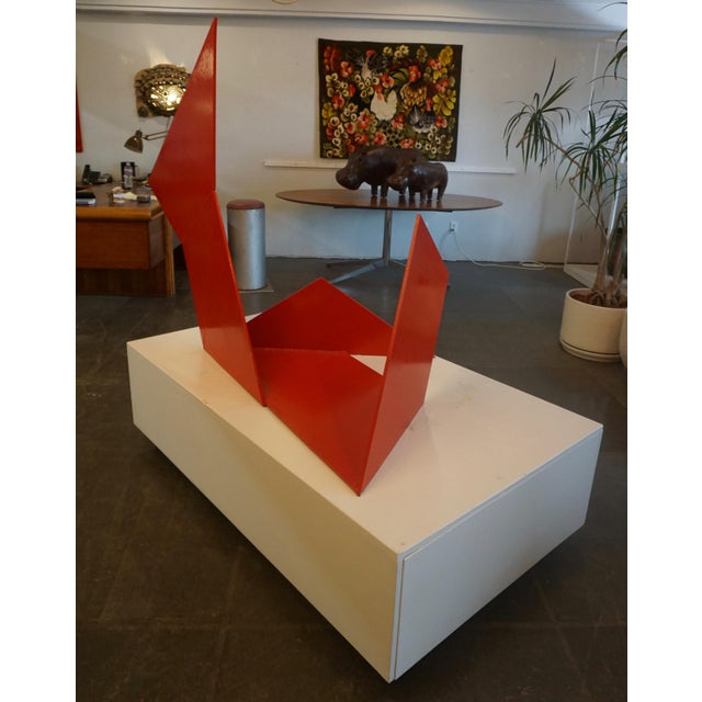 """From a basic set of shapes, I design several different models - or maquettes – then build them in steel and choose which..."