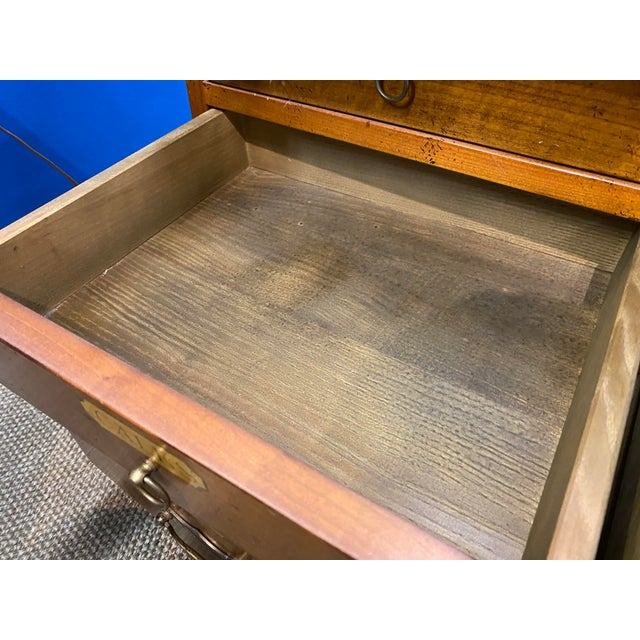 French Oak Apothecary Cabinet For Sale - Image 12 of 13