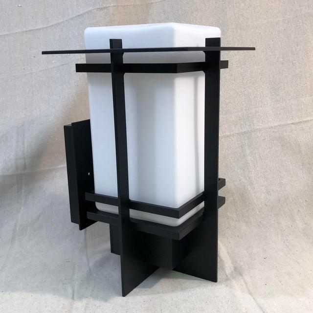 Modern Hubbardton Forge Tourou Outdoor Wall Light Lantern For Sale - Image 3 of 10