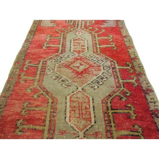 """Vintage Turkish Red Rug-1'11'x3'4"""" Preview"""