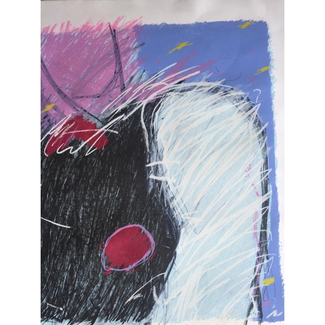 1984 Mixed Media Abstract Figure - Image 3 of 10