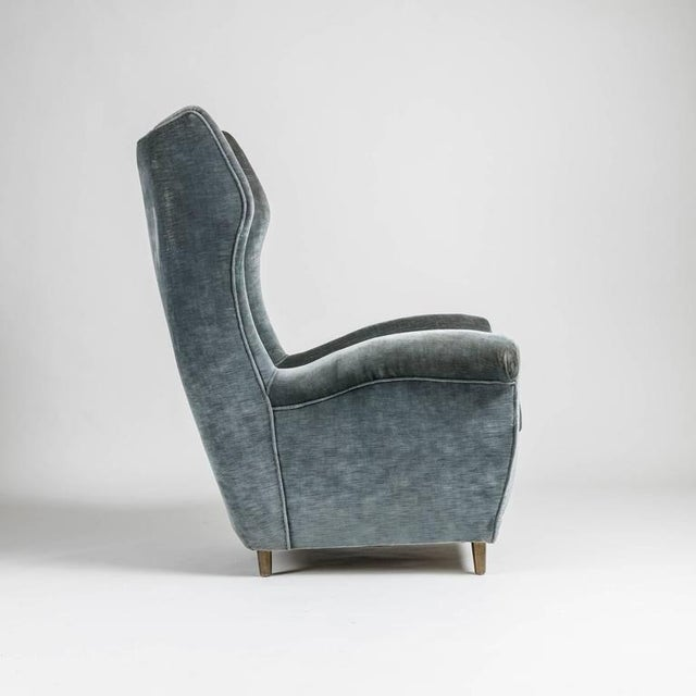 Rare Pair of Italian 1950s Bergeres For Sale - Image 6 of 10