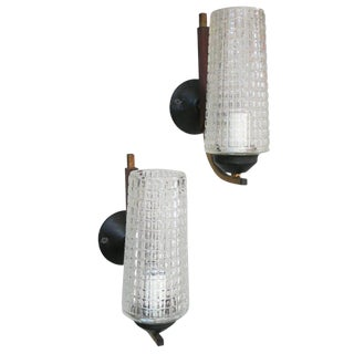 1940s Vintage Cone Sconces by Stilnovo- a Pair For Sale