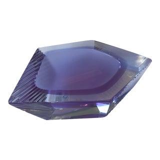 21st Century Alessandro Mandruzzato Lilac Penta Dish For Sale