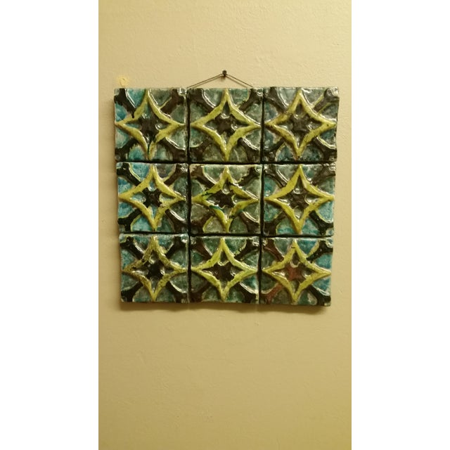 1970s Ceramic Tile Art - Image 8 of 8