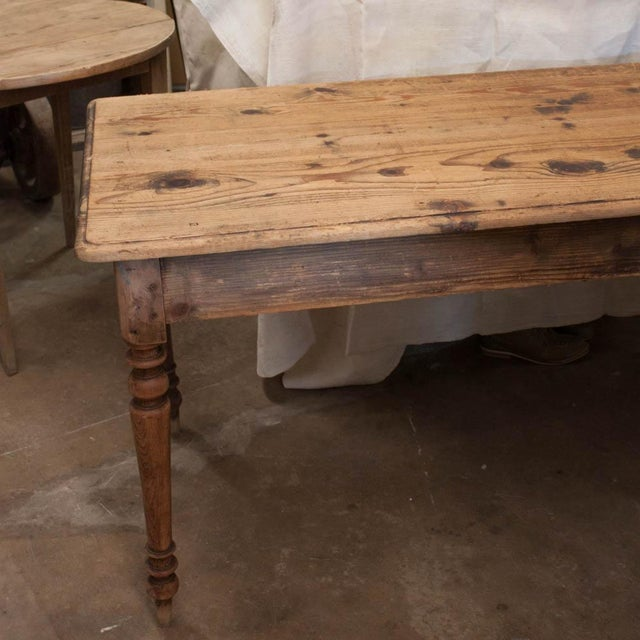 Vintage French Spindle Leg Table - Image 4 of 7