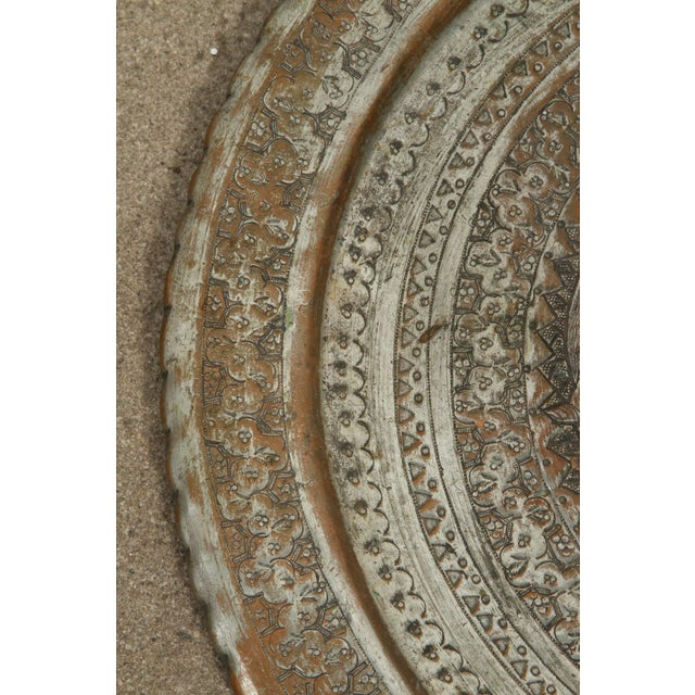 Figurative Persian Hanging Platter For Sale - Image 3 of 10