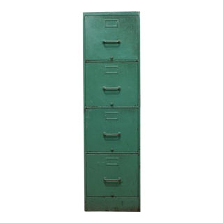 Metal Filing Cabinet C.1940 For Sale