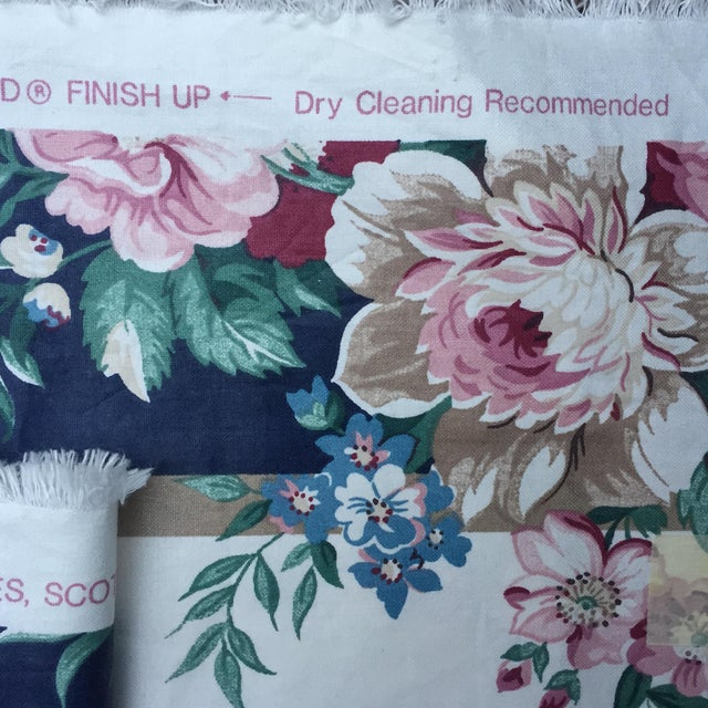 Vintage Schumacher Floral Chintz Fabric - 4.66 Yards - Image 9 of 9