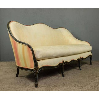 Louis XVI Style Sofa With Decorative Frame Preview