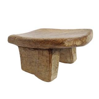 Vintage Wood Lobi Stool For Sale