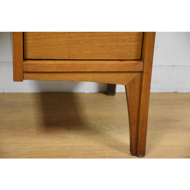 Johnson Carper Walnut & Formica Desk - Image 8 of 9