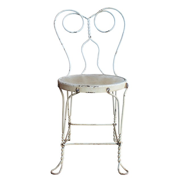 Vintage Ice Cream Parlor Dining Set - Image 2 of 6