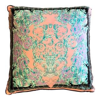 Versace Cotton Throw Pillow