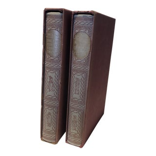 Antique Dickens Volumes - Set of 2 For Sale