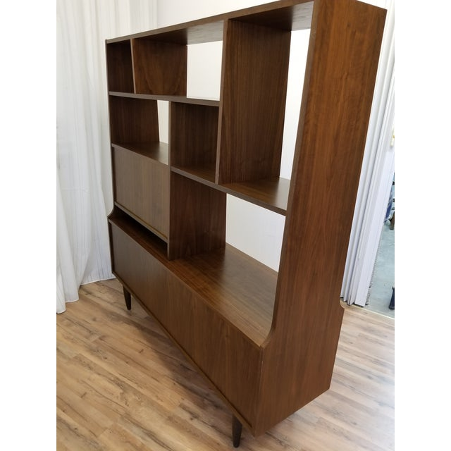 1960s Mid Century Bookcase For Sale - Image 11 of 13