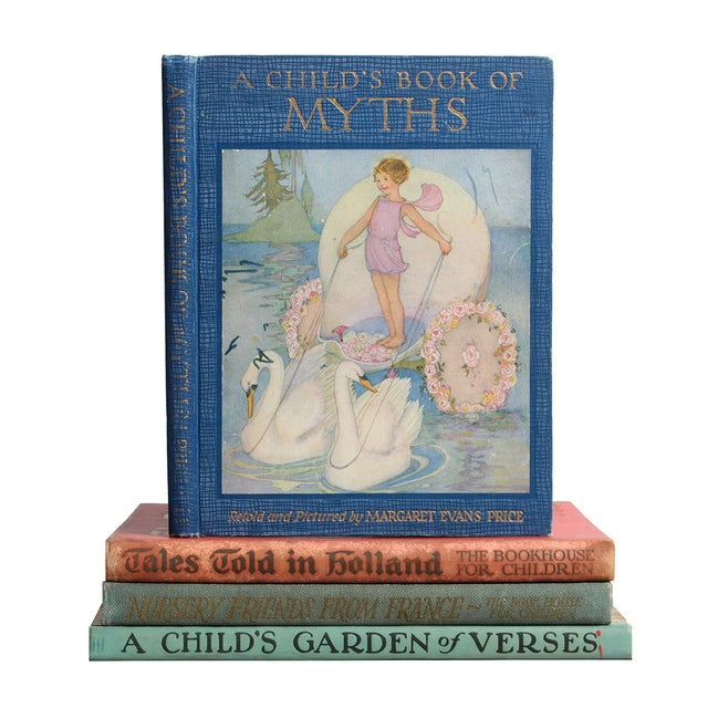 Vintage Nursery Stories Books - Set of 4 For Sale