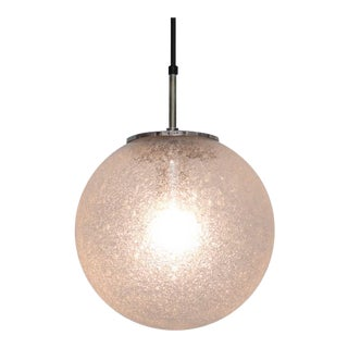 One of 20 Globe Pendant Lamps by Glashütte Limburg For Sale