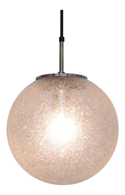 One of 20 Globe Pendant L&s by Glashütte Limburg - Image 1 of 5  sc 1 st  Decaso & Superior One of 20 Globe Pendant Lamps by Glashütte Limburg | DECASO