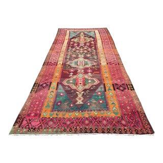 Oversized Vintage Turkish Kilim Rug