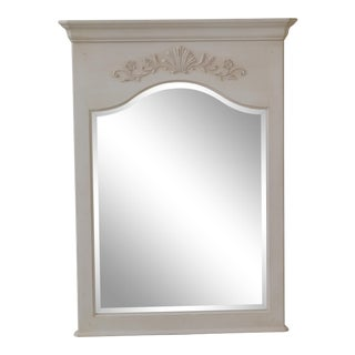 Ethan Allen Maison Collection French Style White Mirror For Sale
