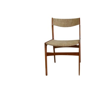 Vintage Mid Century Erik Buch Style Tan Chair For Sale