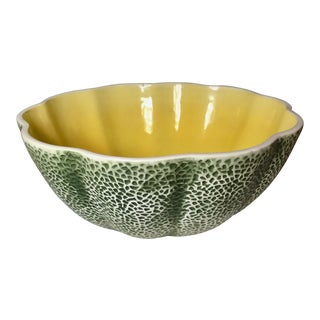 "Vintage 9""Melon Serving Bowl For Sale"