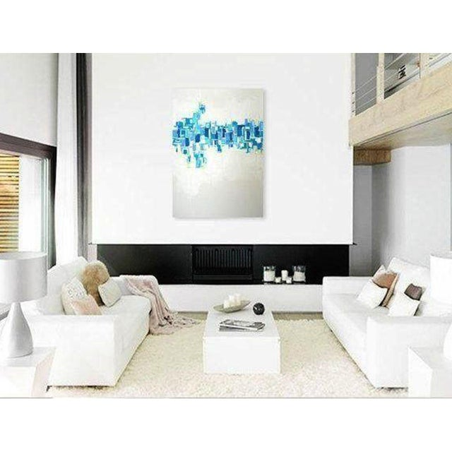 'CRYSTALLIZATiON' Original Abstract Painting - Image 4 of 4