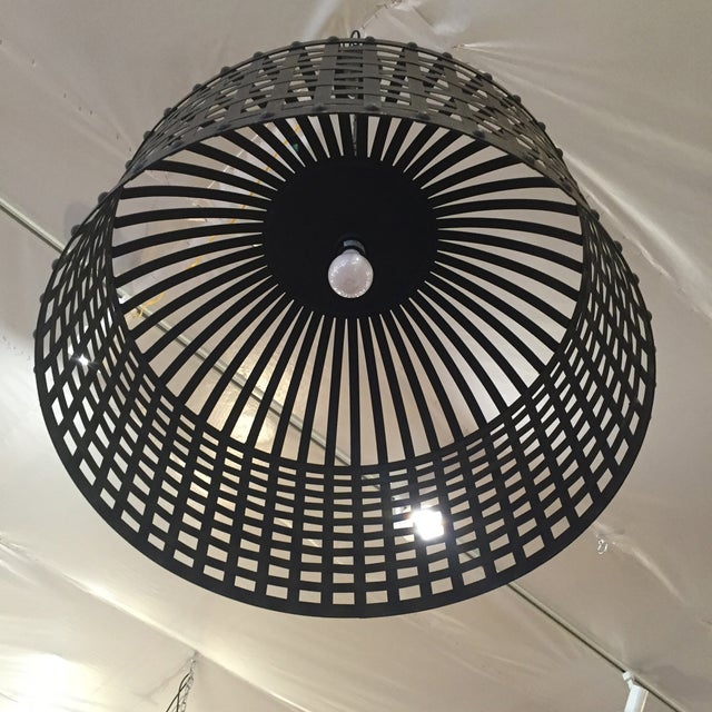 Industrial Cage Pendant Light - Image 9 of 9