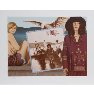 Robert Anderson, Expecting to Fly, Lithograph For Sale