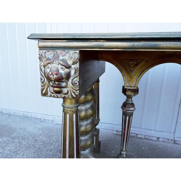 Shabby Chic Imperial Style Coffee Side Table - Image 5 of 8
