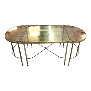 Vintage Oblong Gilded Coffee Table