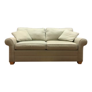 Bennett Rolled-Arm Sofa by Ethan Allen For Sale