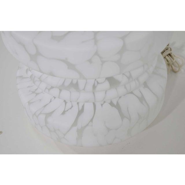 Vistosi Murano 1960's Vistosi Cumulus Murano Glass Totem Lamp For Sale - Image 4 of 9