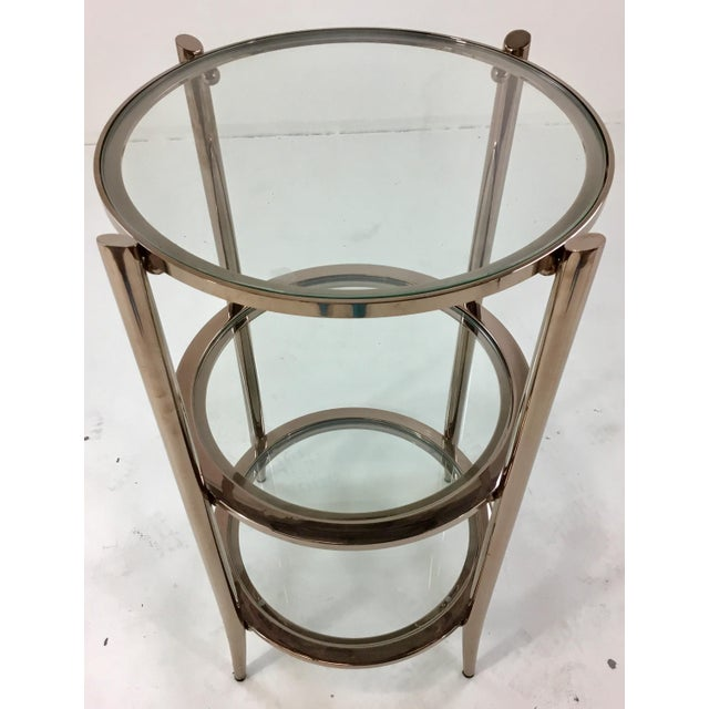 Modern Caracole You Make Me Blush Occasional Table For Sale - Image 3 of 5