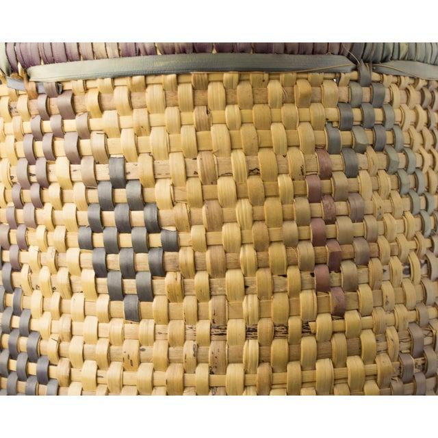 Vintage Tribal Basket For Sale - Image 10 of 12
