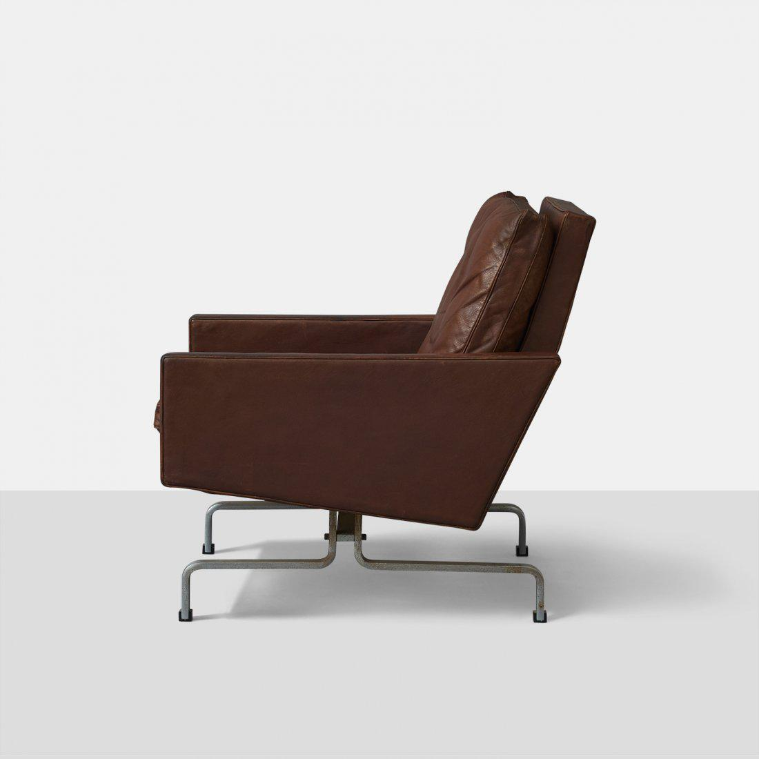 Poul Kjærholm Poul Kjaerholm Leather Chair For Sale   Image 4 Of 6