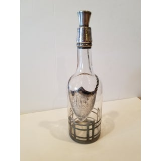 Sterling Silver Overlay Decanter Preview
