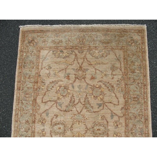 Traditional Hand Knotted Area Rug - 4′2″ × 6′4″ - Image 6 of 8