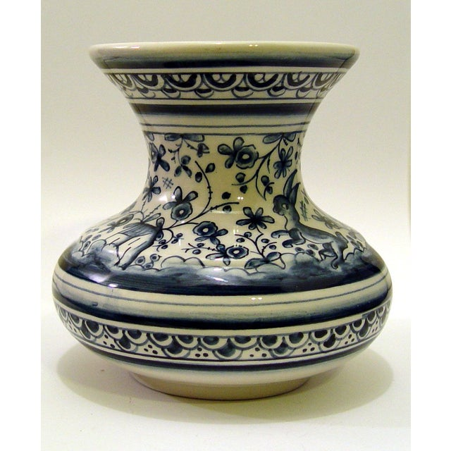 Hand Painted Portugese Vase - Image 4 of 5