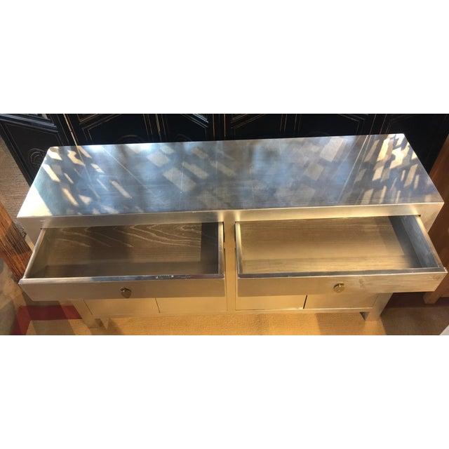 Modern Silver Dresser - Image 5 of 6