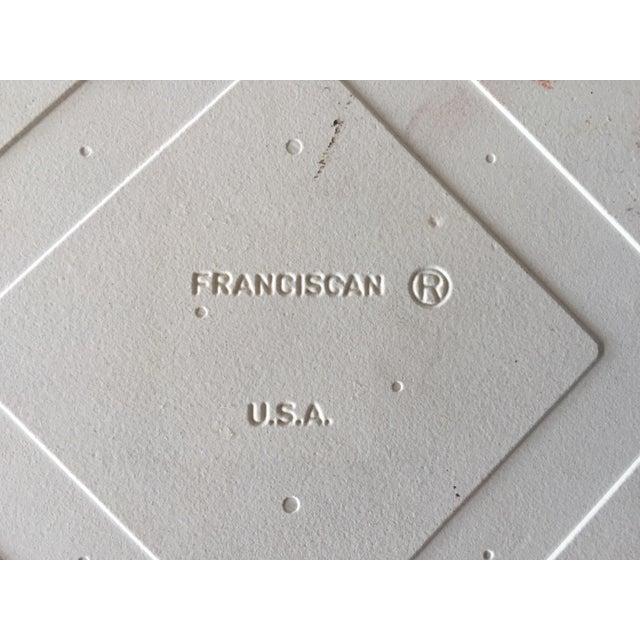 Franciscan Desert Rose Trivets or Tiles - a Pair - Image 7 of 7