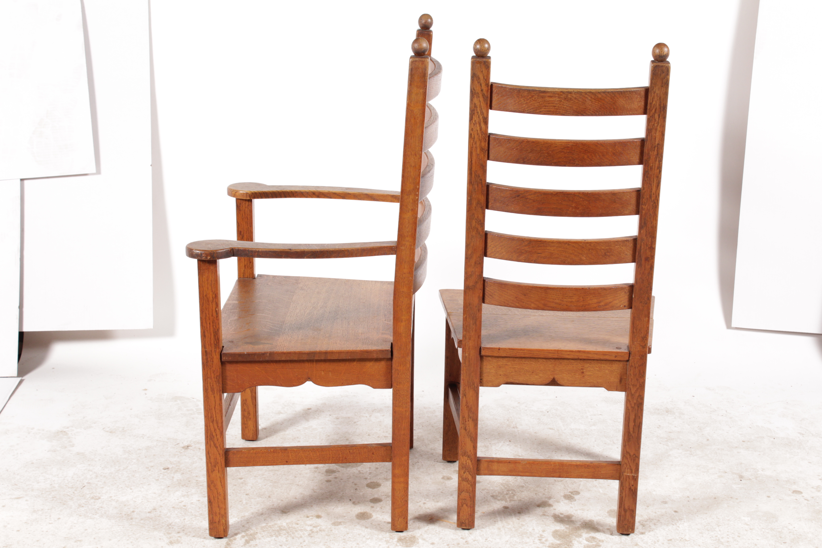Genial Belgian 1940s Shaker Style Dining Chairs   Set Of 6 For Sale   Image 3