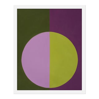"Small ""Violet and Green Forever"" Print by Stephanie Henderson, 16"" X 20"" For Sale"