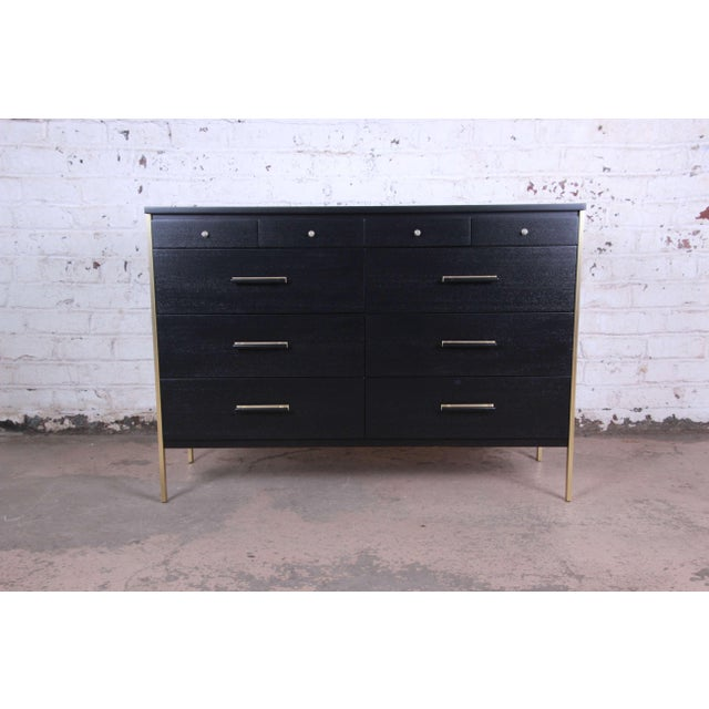 Paul McCobb for Calvin Furniture Ebonized Dresser For Sale - Image 12 of 12